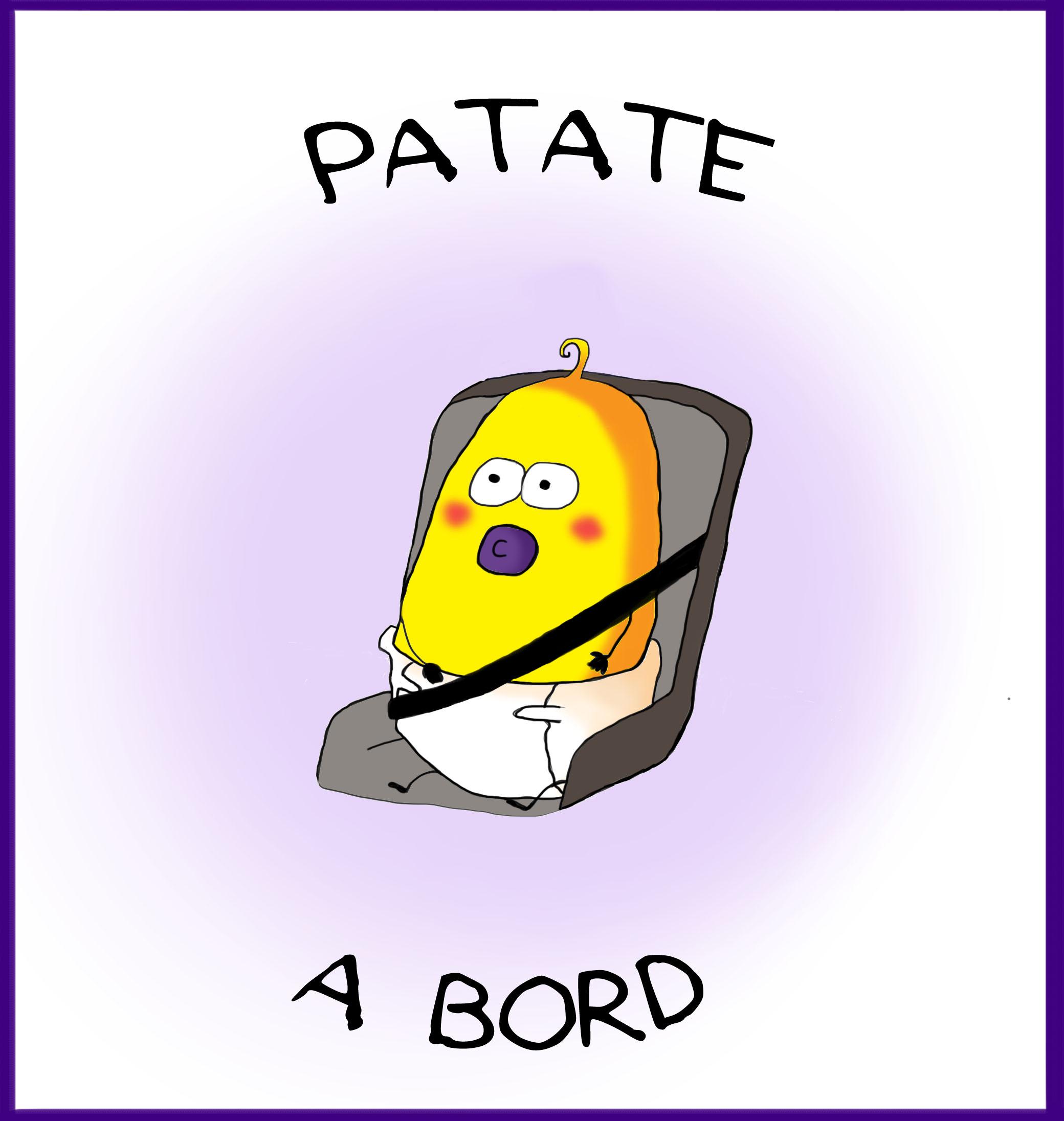 Patatabord