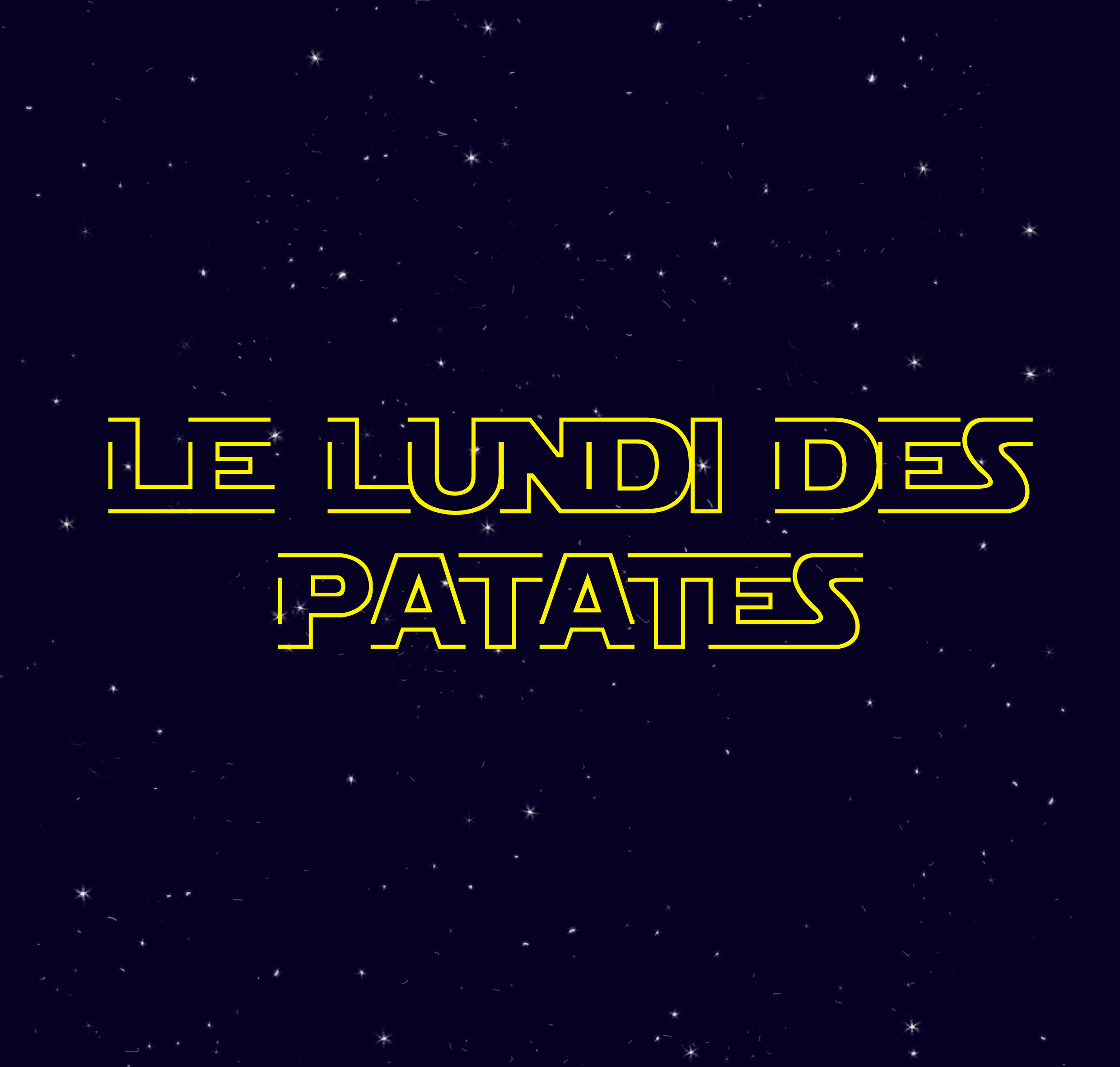 titre Star Wars Patate